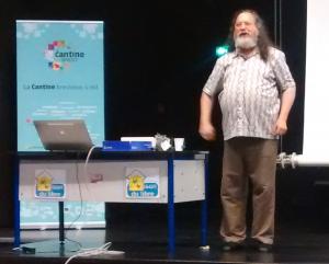 Retour sur la conférence donnée par Richard Matthew STALLMAN (alias RMS) le 12 mai 2015 à Brest.